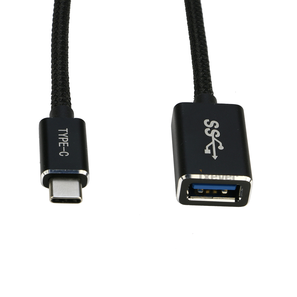 USB-C Type-C 3.1 to 2x USB Type-A OTG Adapter Cable Power For Apple Macbook Air